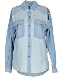 Etoile Isabel Marant Denim Shirt blue - Lyst