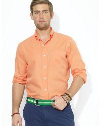 Ralph Lauren Polo Sateen Mercer Pocket Shirt Classic Fit - Lyst