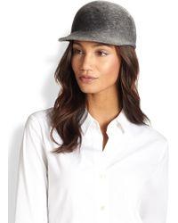 Eugenia Kim Joey Wool Baseball Hat - Lyst