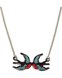 Tatty Devine Swallow Necklace - For Women - Lyst