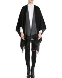 Rag & Bone - Wool Cape - Black - Lyst