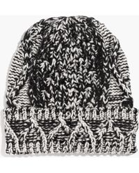 Madewell Cabletwist Beanie - Lyst