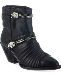 Giuseppe Zanotti Sinclair Ankle Boots Black - Lyst