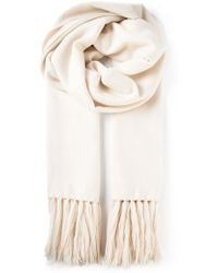Isabel Marant White Edith Scarf - Lyst