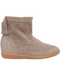 Isabel Marant Beslay Concealed Wedge Boot - Lyst