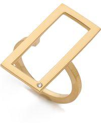 Jennifer Zeuner - Nala Rectangular Ring - Lyst