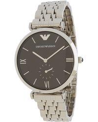 Emporio Armani Silver watches - Lyst
