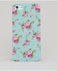 Pull&Bear Flowers Iphone Case - Lyst