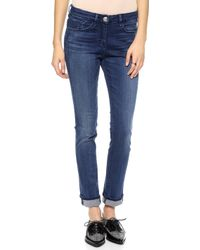 3x1 W2 Mid Rise Straight Leg Jeans  Surf - Lyst