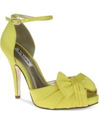 Nina Ella Platform Evening Sandals - Lyst