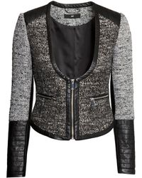 H&M Textured Jacket - Lyst