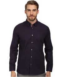 Ted Baker Richgeo Ls Geometric Jacquard Shirt - Lyst