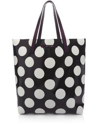 House of Holland Tote Amaze Purple & Polka Dots - Lyst