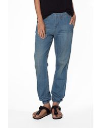 Rag & Bone Pajama Denim Pants - Lyst