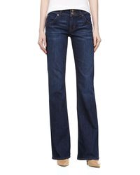 Hudson Midrise Signature Boot Cut Jeans - Lyst