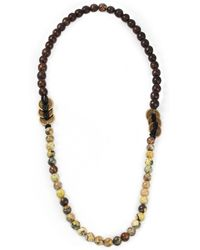 Lulu Frost Thick Beaded 5050 Necklace - Lyst