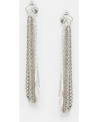 Cheap Monday - Punkchain Earrings - Lyst