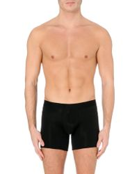 La Perla Long Cotton Trunks - Lyst