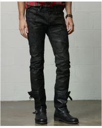 Denim & Supply Ralph Lauren Slim-fit Biker Jeans - Lyst