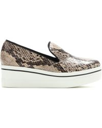 Stella McCartney Platform Slipon Sneakers - Lyst