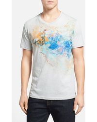 Robert Graham 'Paint Your Own Picture' Tailored Fit Graphic T-Shirt - Lyst
