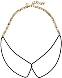 Marc By Marc Jacobs Key Items Rubberized Wireframe Collar Necklace - Lyst