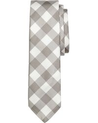 Brooks Brothers Large Gingham Tie - Lyst