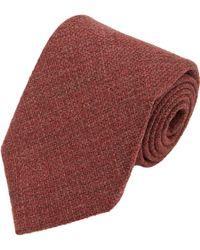 Barneys New York Woven Neck Tie - Lyst