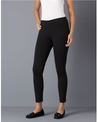 Eileen Fisher Jersey Legging - Lyst