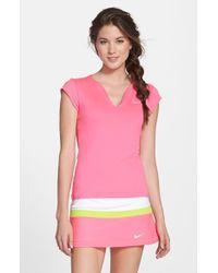 Nike 'Pure' Tennis Top - Lyst