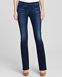 Jen7 - Bootcut Jeans In Medium Rich Indigo - Lyst