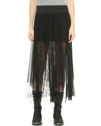 Free People Sugar Plum Tutu Skirt - Black Combo - Lyst