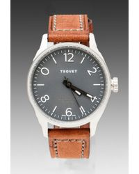 Tsovet Leather Strap Watch - Lyst