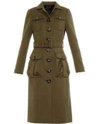 Burberry Prorsum Cotton-Twill Trench Coat - Lyst
