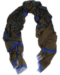 Burberry Prorsum - Wool and Silk Scarf - Lyst