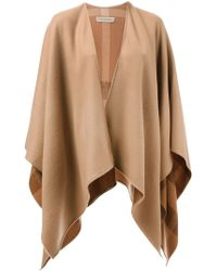 Burberry Oversized Shawl - Lyst