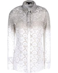 Burberry Prorsum Long Sleeve Shirt - Lyst