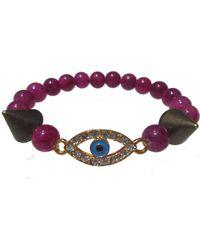 Electric Picks - 'eye Spy' Bracelet - Lyst