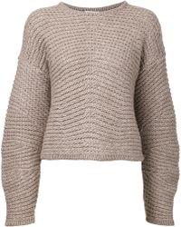 Helmut Lang Knit Sweater - Lyst