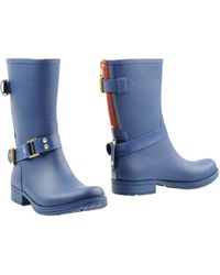 Colors Of California Boots blue - Lyst