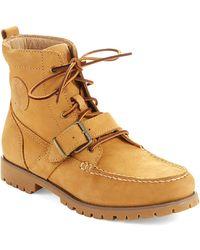 Polo Ralph Lauren Redmond Lace Up Boots - Lyst