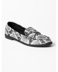 Gap Leather Loafers - Lyst