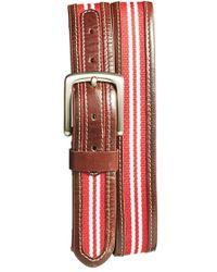 Jack Mason Brand - 'tailgate - Oklahoma Sooners' Belt - Lyst