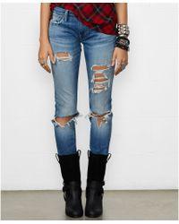 Denim & Supply Ralph Lauren Distressed Skinny Jeans - Lyst