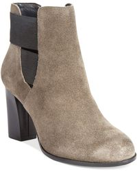 Kenneth Cole Reaction Cross Glow Booties - Lyst