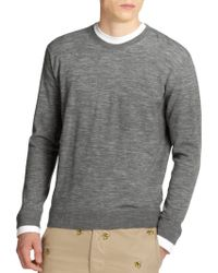 DSquared² Marled Combo Sweater gray - Lyst