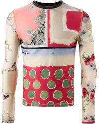 Jean Paul Gaultier Long Sleeve T-Shirt - Lyst