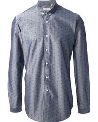 Mr Start Patterned Slim Fit Shirt - Lyst