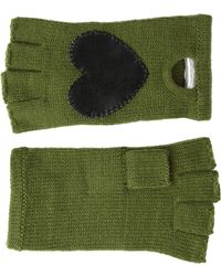 BCBGeneration Heart Patch Driving Gloves - Lyst