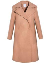 Pixie Market Cameo No Limit Camel Coat beige - Lyst